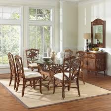 Rattan Kitchen Furniture Wicker Dining Chairs Wicker Dining Chairs Dining Room Eclectic