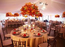 Fall Centerpiece Ideas For Wedding Receptions