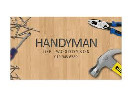 handyman business wording for handyman business cards wendyboglioli
