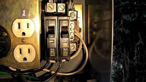 midwest rv pedestal wiring diagram midwest image how to replace a circuit breaker on an rv power pedestal on midwest rv pedestal rv park electrical wiring diagrams