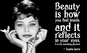 Sophia Loren Beauty Quotes
