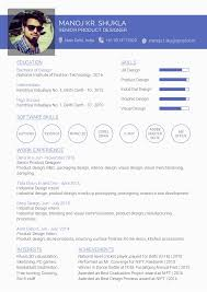 User Experience Designer Resume Gorgeous Resume Ux