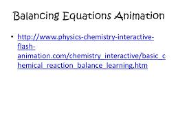 15 balancing equations