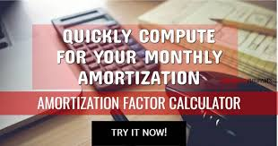Amortization Factor Rate Tables Foreclosurephilippines Com