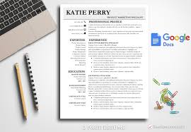 2 Page Resume Template Unique Resume Template Katie Perry BestResumes