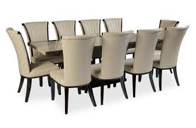 Comfy 10 Chair Dining Table Sets : Melissa Darnell Chairs -  Seats For A Large Gathering