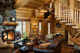 lodge style living room furniture design. view in gallery log cabin style decor idea lodge living room furniture design