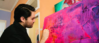when alejandro castanon moved to san angelo in 2016 after eight years in the air force he looked for a paint and sip class similar to the ones he had