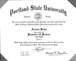 college diploma received arman bohn >>video>>music>>game dev college diploma received