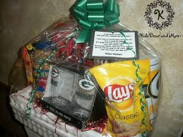 gift basket ideas for coworkers sports theme game day gift basket mens boss coworker