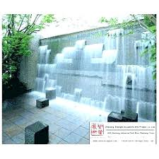 modern outdoor wall fountain mounted water fountains feature garden drink diy