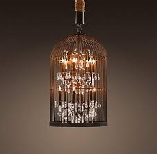 vintage birdcage chandelier small chandeliers restoration hardware link on view full size