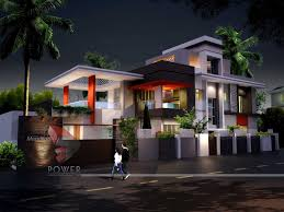 D Architecture RenderingUltra Modern Home De  Wallpaper - Modern house plan interior design