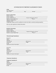 Child Medical Consent Form For Grandparents Grandparents Medical Consent Form Minor Child 5764550823 Free