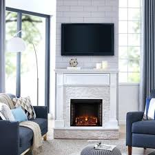 media electric fireplace blvd faux stone media electric fireplace white with rustic white media electric fireplace
