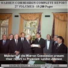Image result for Warren Commission
