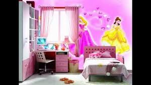 Pink Wallpaper For Bedrooms Pink Wallpaper Decor Ideas For Girls Room Youtube
