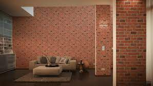 how to use brick wallpaper home flair