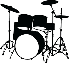 >wall arts drum set wall art acoustic drums print wall art metal  wall arts drum set wall art musical instruments drums music wall stickers wall art decal