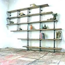black pipe shelf shelves kitchen stupendous fitting metal bookshelf diy booksh