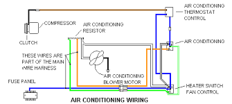 classic auto air conditioning wiring diagram modern design of matt cars com technical information rh matt cars com air conditioner compressor wiring diagram gm car air conditioning schematic diagram