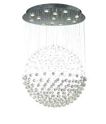 round ball chandelier crystal chandeliers s round ball chandelier