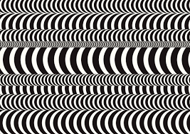 Cafe Optical Illusion