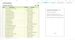 Household Expense Sheet Household Expense Tracking Template