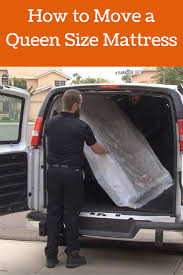 How to Move a Queen Size Mattress - Moving Insider