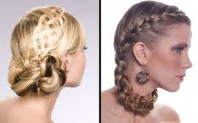 Prom Hair Style Up latest easy hairstyles half up half down hair style with braid 2639 by wearticles.com