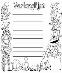Sinterklaas Tekeningen Om Te Kleuren Fris Sinterklaas Briefpapier