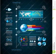 Timeline To Display Your Data With Infographic Stock