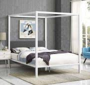 White Canopy Bed For Frame Wayfair Ideas - Internjump.com