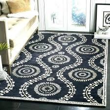 rug rugs bathroom by dot black ivory wool area 8 macys 8x10