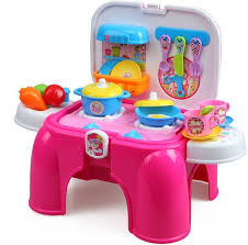 xiong cheng  in  portable kitchen set with light and sound