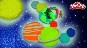 what colors are solar system planets diy how to make play doh planets easy diy play doh creations