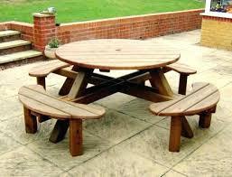 garden picnic table 8 round garden picnic table garden picnic table plans