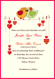 Marriage Invitation Cards Matter In English For Friends 4k