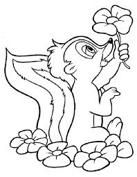 Disegni Da Colorare Walt Disney Bambi Fredrotgans