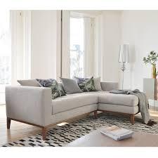 limoges right hand corner sofa pewter