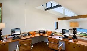 loft home office. Loft Home Design Exquisite 8 Office Desk With A Skylight And Wood Beams. »