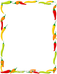 chili cook off border. Wonderful Border Pin By Muse Printables On Page Borders And Border Clip Art  Pinterest  Chili Chili Cook Off Stuffed Peppers And Cook Off