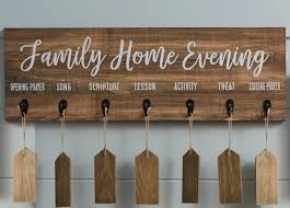 Family Home Evening Chart Ideas Family Home Evening Board