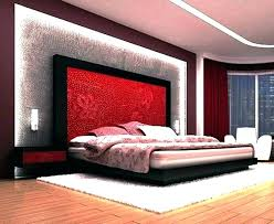 bedroom with red and black – sevenocean.me