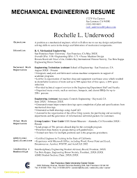 Mechanical Engineering Resume Examples Custom Sample Resume For Mechanical Engineer Fresh Graduate Pdf New 48