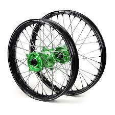 Excel kawasaki kxf 250 450 06 17 black green a60 wheel set