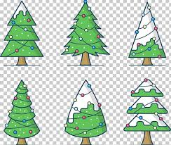 christmas tree drawing png clipart