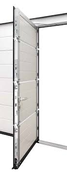 hormann sectional wicket door shown with optional multi point locking