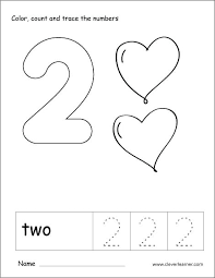 Number 2 Coloring Pages Theaniyagroupcom