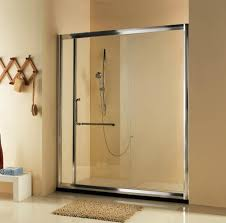 single sliding shower door with 8mm glass 1
